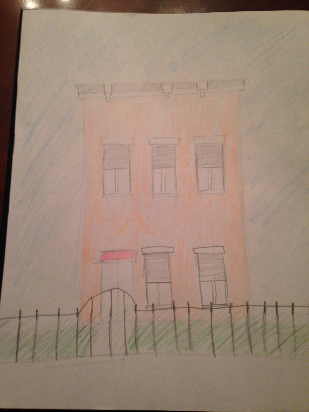 blog i created a drawing of esperanza and her families house on mango street itself esperanza consistent judgements of her house inspired me to create what